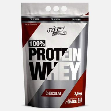 MX3 Force&Fit 100% Whey Protein 2.5kg Chocolate | UKMC Pro