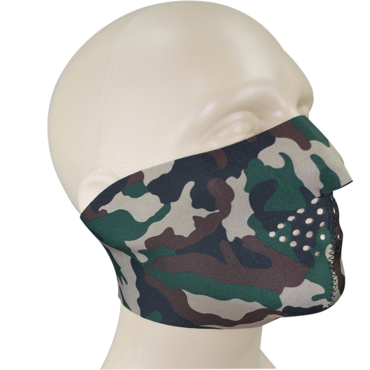 Neoprene Reversible Half Face Mask | UKMCPro