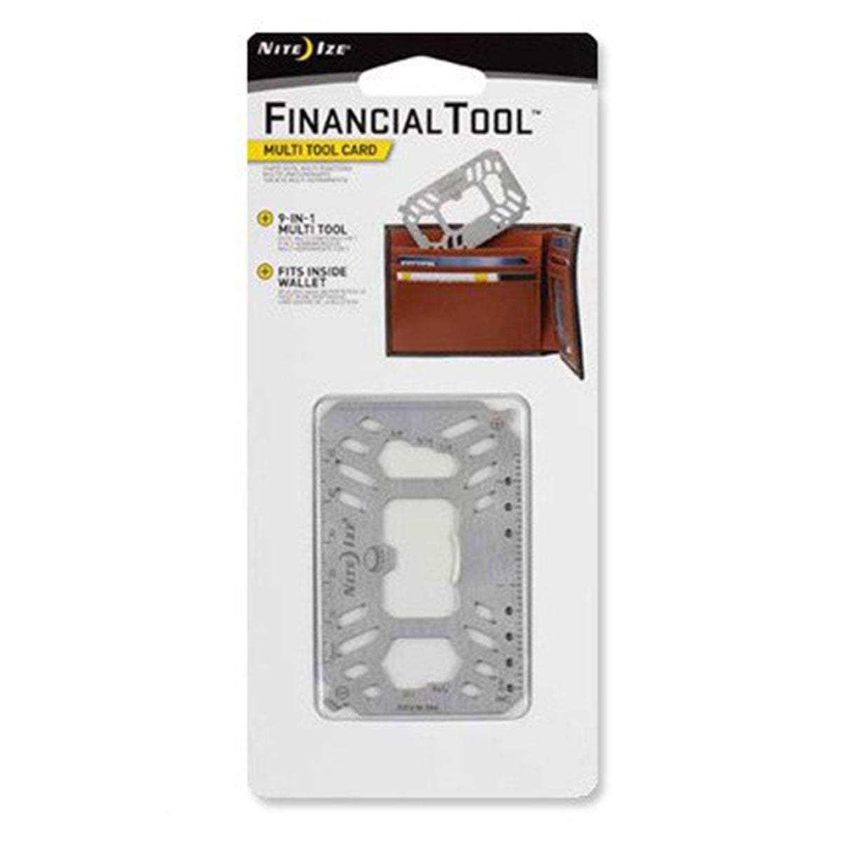 Nite Ize Financial Tool Multi Tool Card Stainless | UKMC Pro