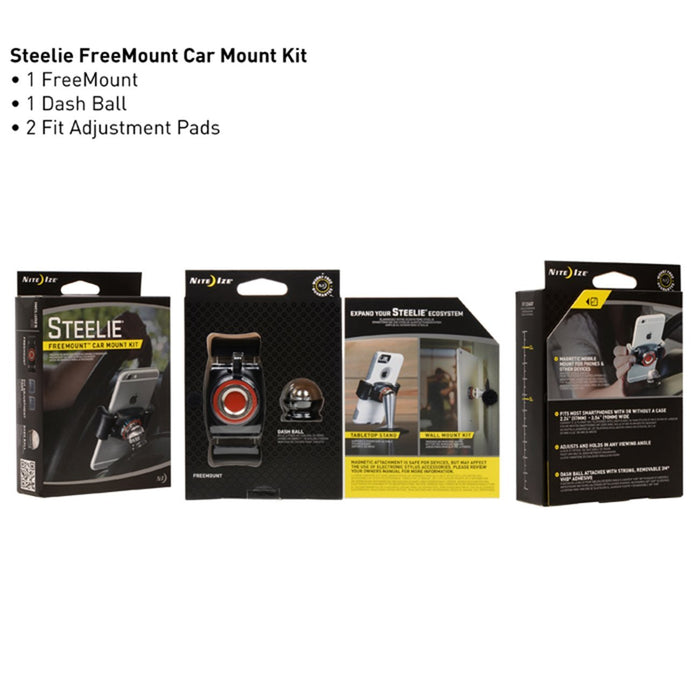 Nite Ize Steelie FreeMount Dash Kit | UKMCPro