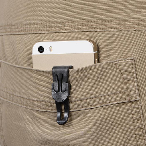 Nite Ize Total Eclipse Mountable Self-Locking Pocket Clip | UKMCPro