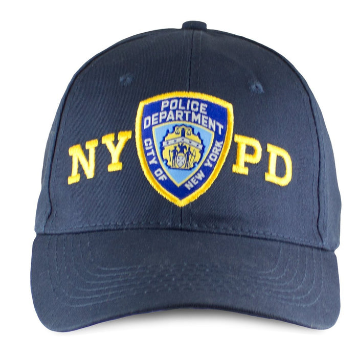 d4cd6d0d3 Officially Licensed NYPD Adjustable Cap With Emblem 8272 Blue ...