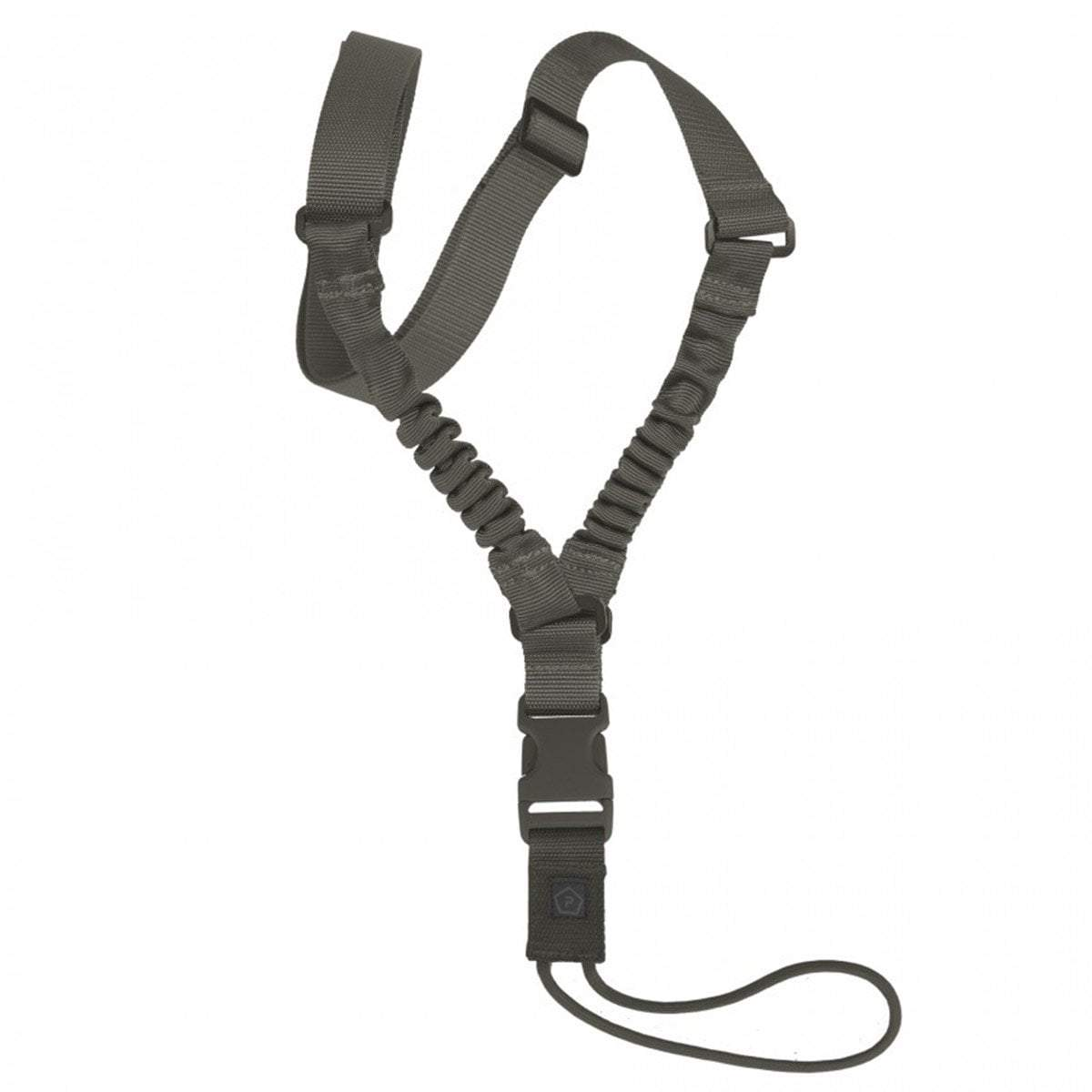 PENTAGON AMMA RIFLE SLING | 1-Point Bungee Weapon Sling | RAL7013 | UKMC Pro
