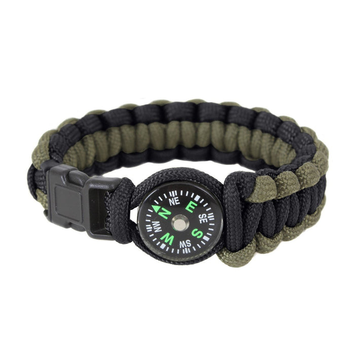 Rothco Paracord Bracelet with Compass | UKMCPro