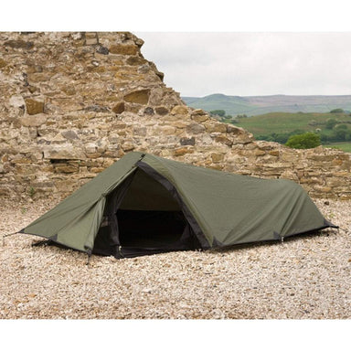 Highlander Blackthorn 1 Personne TUNNEL Tent Army Camping Backpacking Hunter Green