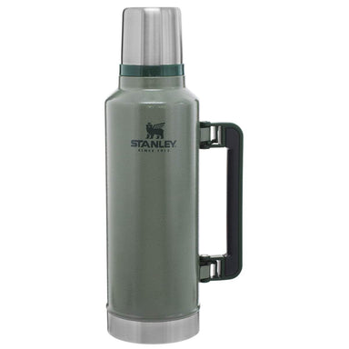 STANLEY CLASSIC VACUUM BOTTLE 1.9L | Thermal Flask, Hot/Cold Drinks | Green | UKMC Pro