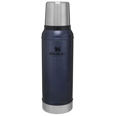 STANLEY CLASSIC VACUUM BOTTLE 470ml | Thermal Flask, Hot/Cold Drinks | Nightfall | UKMC Pro