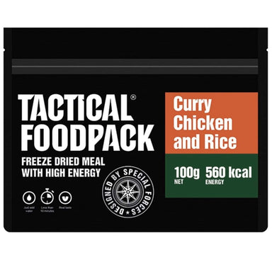 Tactical Foodpack Curry Chicken & Rice | UKMCPro