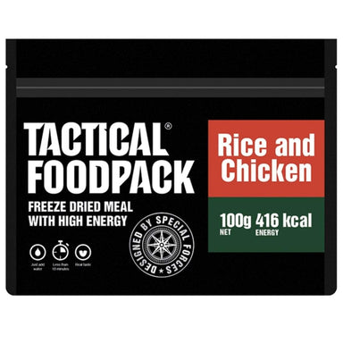 Tactical Foodpack Rice & Chicken | UKMCPro