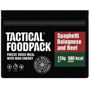 Tactical Foodpack Spaghetti Bolognese & Beef | UKMCPro