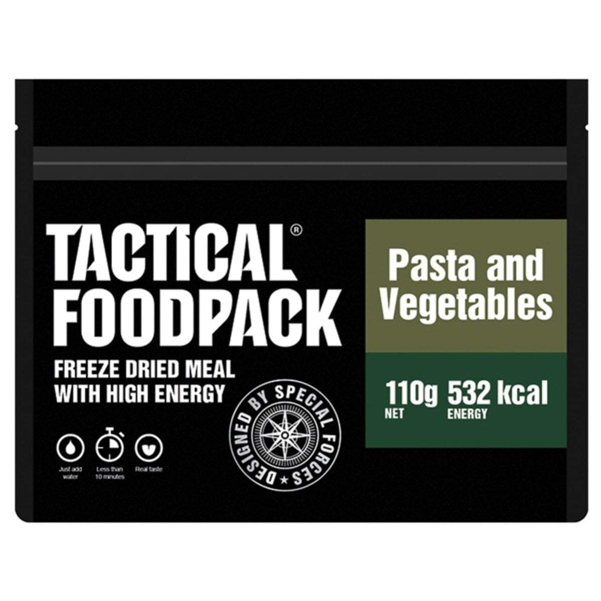 Tactical Foodpack Vegetables & Pasta | UKMCPro