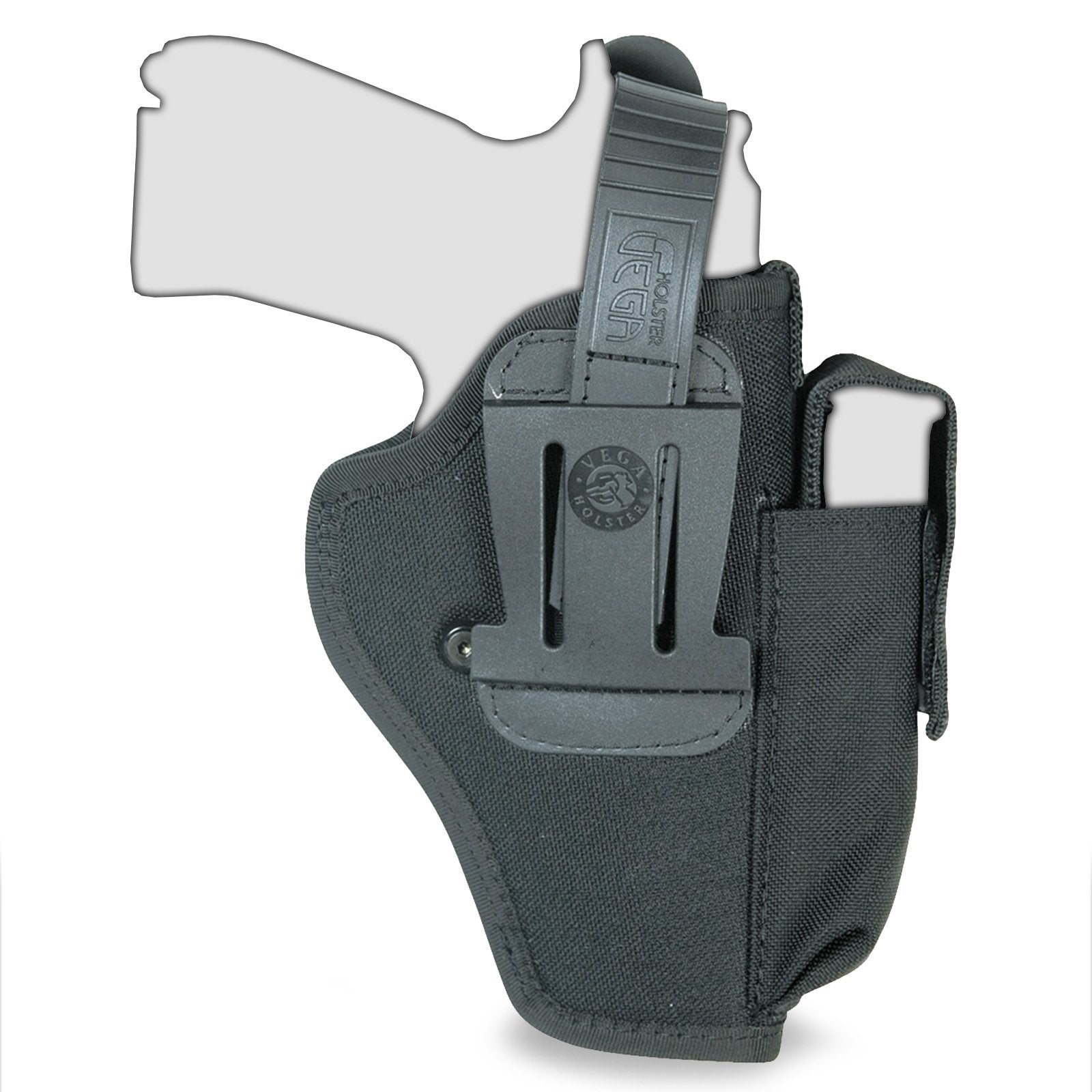 Vega TM2 Ambidextrous Belt Holster w/ Mag Pouch | UKMCPro