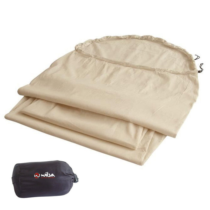 Wilsa Outdoor Cotton Sleeping Bag Liner | UKMCPro