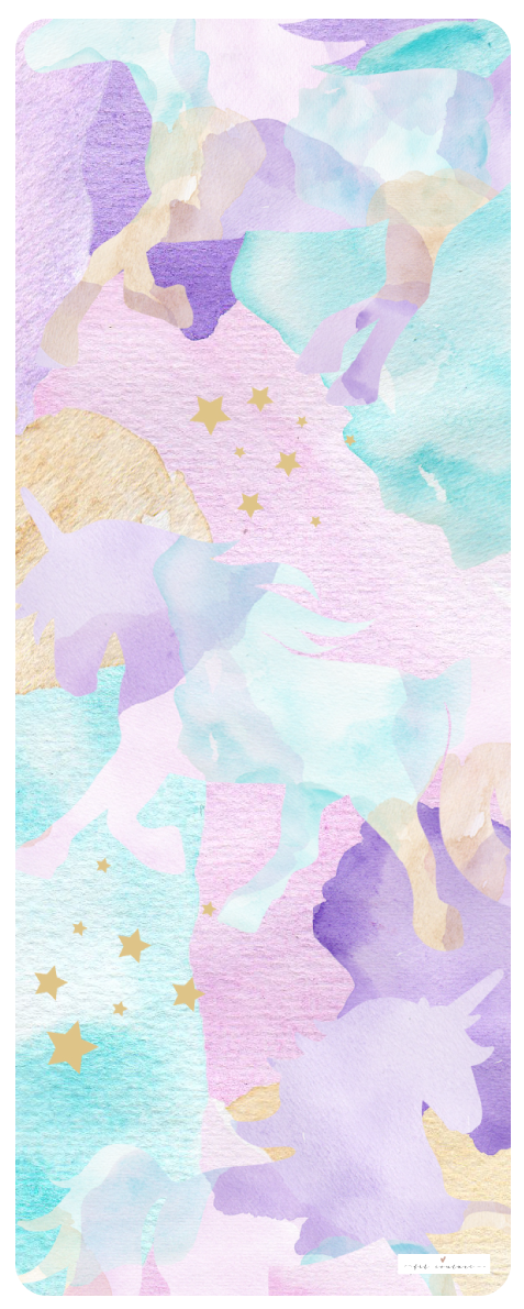 Buy The Watercolor Amp Unicorn Yoga Mat Exclusively Online