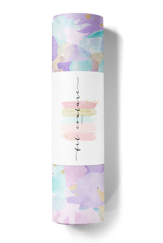 Watercolor Unicorn Yoga Mat