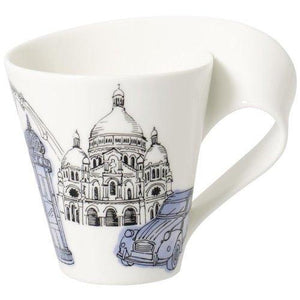 Villeroy & Boch New Wave Caffe Cities Of Europe Mug - Paris - Tucson Tiques Collectibles