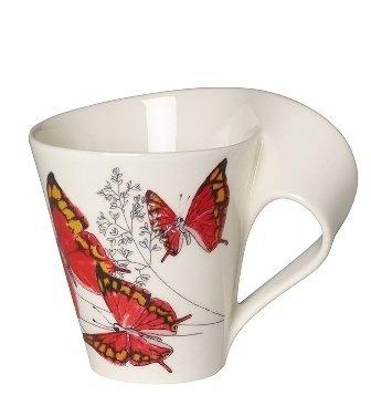 Villeroy and Boch New Wave Cafe Leaf Wing Mug - Tucson Tiques
