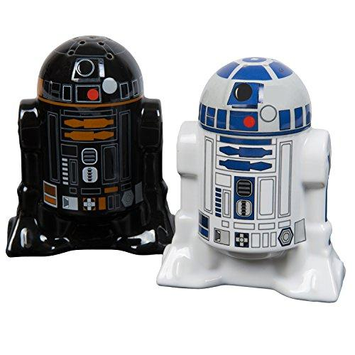 Star Wars Salt and Pepper Shakers - R2D2 and R2Q5 - Add a little Star Wars to every Meal - Tucson Tiques