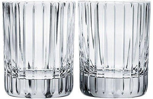 Baccarat Crystal Harmonie Tumbler No 1 Glass - Clear - Set of 2 - Tucson Tiques