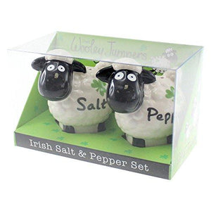 Irish Wooley Jumpers Salt And Pepper Shakers - Tucson Tiques Collectibles