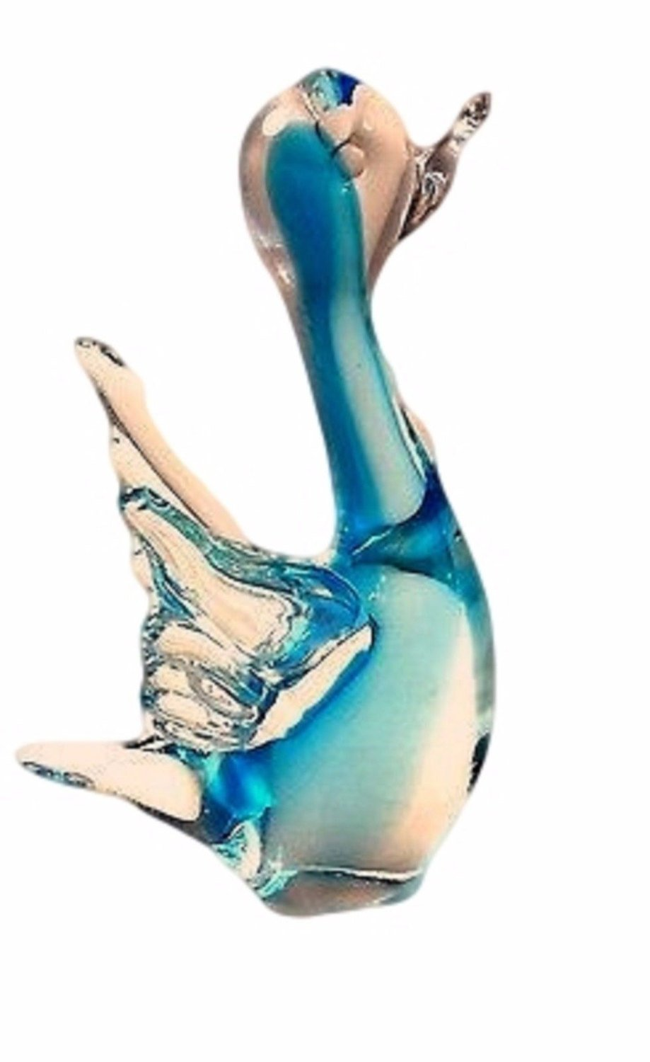 Murano Art Glass Duck Figurine - Tucson Tiques