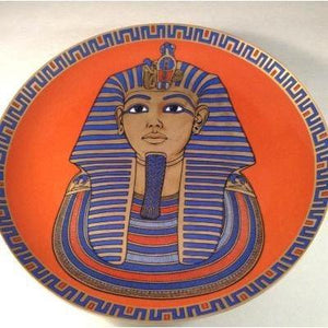 king tut collectible plate