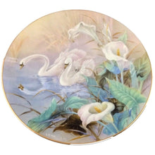 Lena Liu Wall Plate The Swans On The Wings of Snow - Tucson Tiques