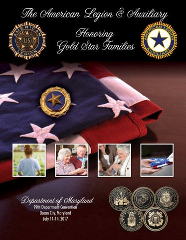 Print Ready American Legion Department Convention Book Ad for Legion Family
