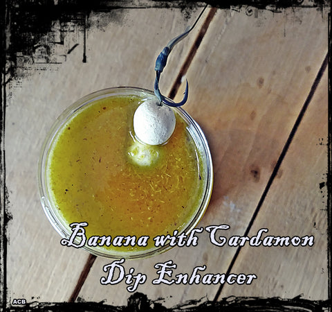 Banana Cardamon Dip Bait Enhancer and Bait Scent