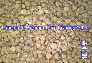 Cinnamon Coconut Carp Fishing Pellets-Pellets For Carp Fishing