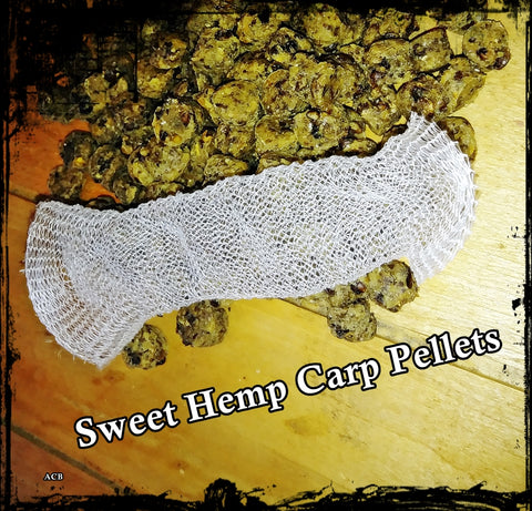 Sweet Hemp Sinking Carp Fishing Pellets