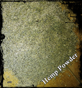 Processed Hemp Powder 1-Kilo