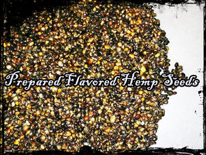 Prepared Unflavored Carp Fishing Hemp Seeds