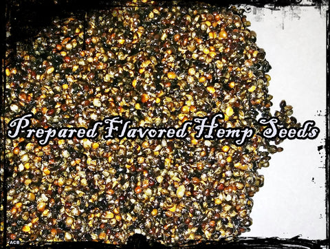 Prepared Banana Flavored Carp Fishing Hemp Seeds