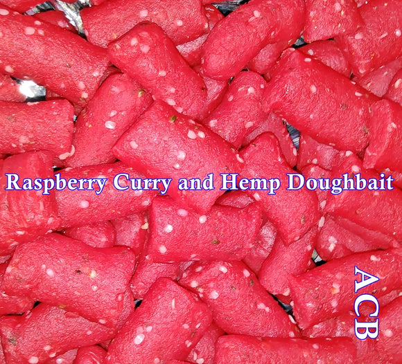 Raspberry Hemp and Curry Carp Fishing Dough Bait 8-Ounces
