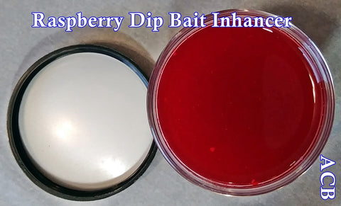 Raspberry Dip Bait Enhancer and Bait Scent