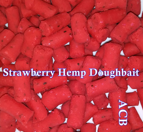 Strawberry Hemp Carp Fishing Dough Bait 8-Ounces
