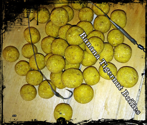 Banana Tigernut Carp Fishing Boilie-Carp Fishing Boilies
