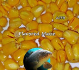 Almond Tangerine Flavored Carp Fishing Maize 5 Ounces