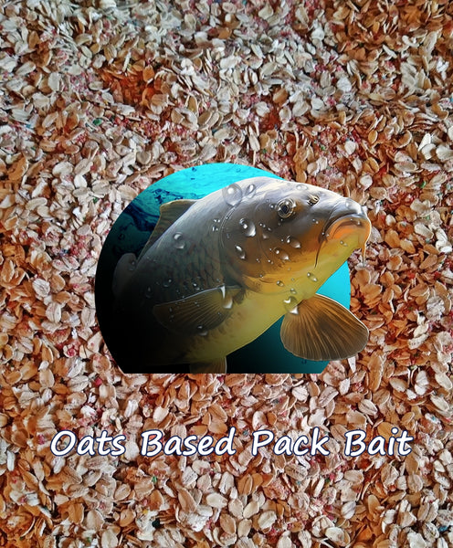 Raspberry Oats Pack Bait 2 Pounds Binder Included