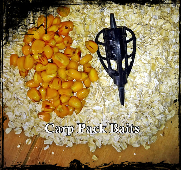 Strawberry Banana Oats Pack Bait 2 Pounds Binder Included