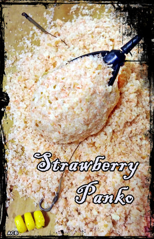 Strawberry Flavored Panko 2 Pounds - Binder Included