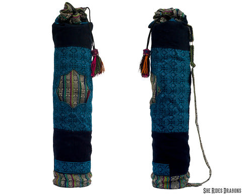 Royal Blue Yoga Mat Bag