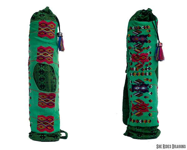 Green Yoga Mat Bag