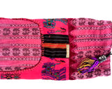 Pink and Black Yoga Mat Bag