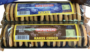 Petit Colis Biscuits ROSINSKI Sélection      ( 2 Kakes Nature 250 grs + 2 Kakes Choco 350 grs)