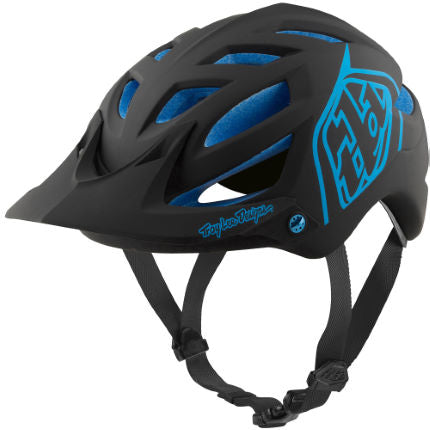 Troy Lee Designs A1 MIPS Helmet - Classic Black/Blue