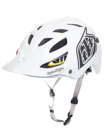 Troy Lee A1 Helmet -Classic White