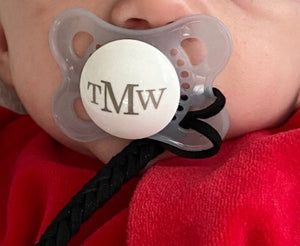 MAM Personalized Pacifier (Gray) 0-6