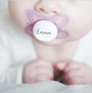 MAM Personalized Pacifier Lavender 0-3